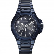 Guess Unisex Only Time Rigor Collection