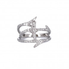 Amen Woman Ring Croce del...
