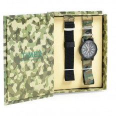 Timex Unisex Watch Only Time Camper Collection Camouflage
