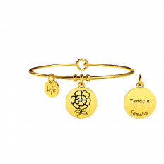 Kidult Women's Bracelet Nature Collection Camellia Gold