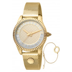 Just Cavalli Women's Watch Only Time Sets Mesh