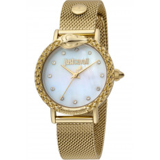 Just Cavalli Women's Watch Only Time Animalier Gold
