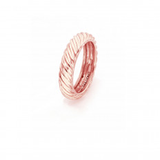 Unoaerre Ring Woman Silver Collection Band Ring Rosè 5716