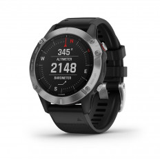 Garmin Smartwatch Unisex Fenix 6 Silver/Black Band 010-02158-00