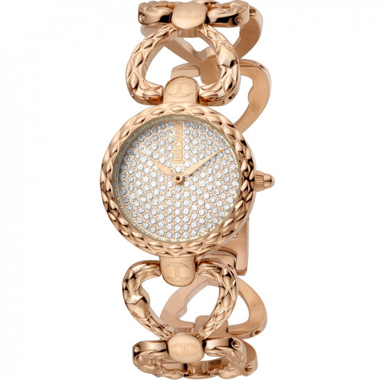 Just Cavalli Women's Watch Only Time Animalier Rosegold
