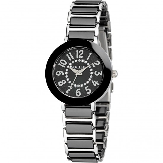 Morellato Watch Only Time Collection Black & White