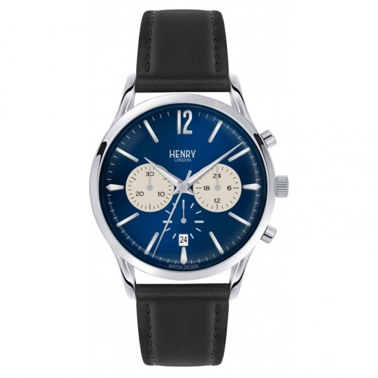Mens Chronograph Watch Henry London Knightsbridge Collection