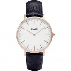 Cluse Watch Only Time Woman Rose Gold White/Midnight Blue La