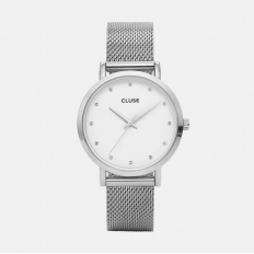 Cluse Watch Only Time Woman Stone Pavane Collection