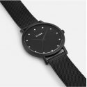 Cluse Watch Only Time Woman Black Pavane Collection