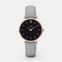Cluse Watch Only Time Woman Silver Black/Grey Minuit Collection