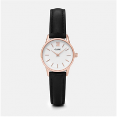 Cluse Watch Only Time Woman Rose Gold Black/White La Vedette