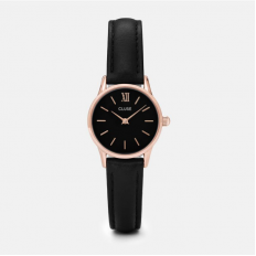 Cluse Watch Only Time Woman Rose Gold Black/Black La Vedette