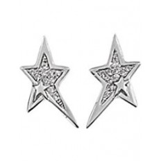 Thierry Mugler Women's Earrings Stainless with Stars