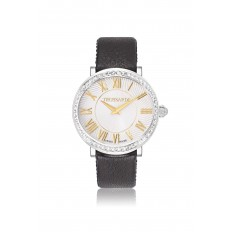 Trussardi Watch Only Time Woman Galleria Collection Black