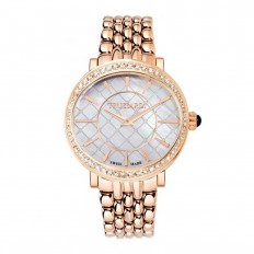 Trussardi Watch Only Time Woman Galleria Collection Rose Gold