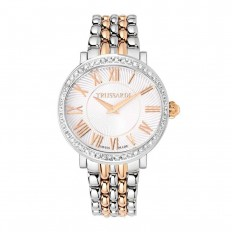 Trussardi Watch Only Time Woman Galleria Collection Silver and