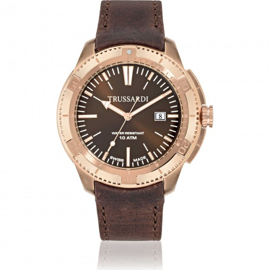 Trussardi Watch Only Time Man Sportive Collection Vintage