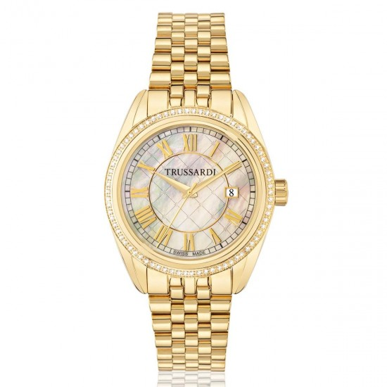 Trussardi Watch Only Time Woman Lady Collection Diamonds