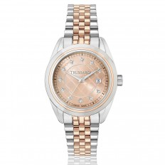 Trussardi Watch Only Time Woman Lady Collection Diamonds Rose