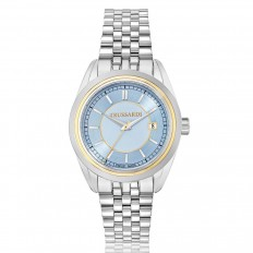 Trussardi Watch Only Time Woman Lady Collection Light Blue