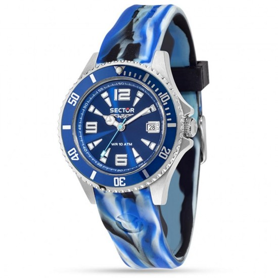 Sector Watch Man Only Time 230 Collection Blue