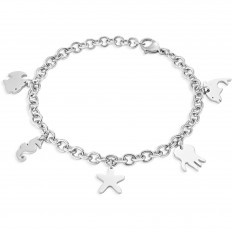 Sector Woman Bracelet Nature and Love Collection 5 Charms