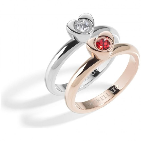 Morellato Anello Donna Collezione Love Rings Rose Gold