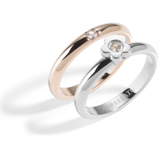 Morellato Ring Woman Love Rings Collection Rosé