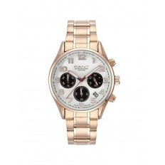 Gant Watch Woman Chronograph Blue Hill Collection Rose Gold