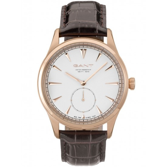 Gant Watch Man Only Time Huntington Collection Rose Gold