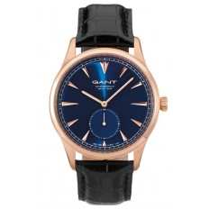 Gant Watch Man Only Time Huntington Collection Rose Gold Blu