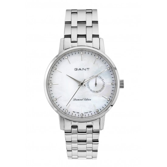 Gant Watch Woman Only Time Park Hill II Mid Collection Silver