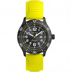 Nautica Watch Man Only Time Yellow