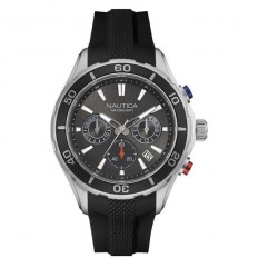 Nautica Watch Man Chronograph Black