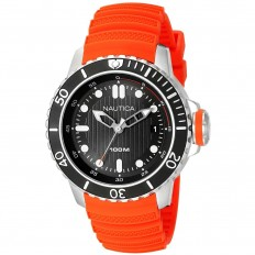 Nautica Watch Man Only Time Orange