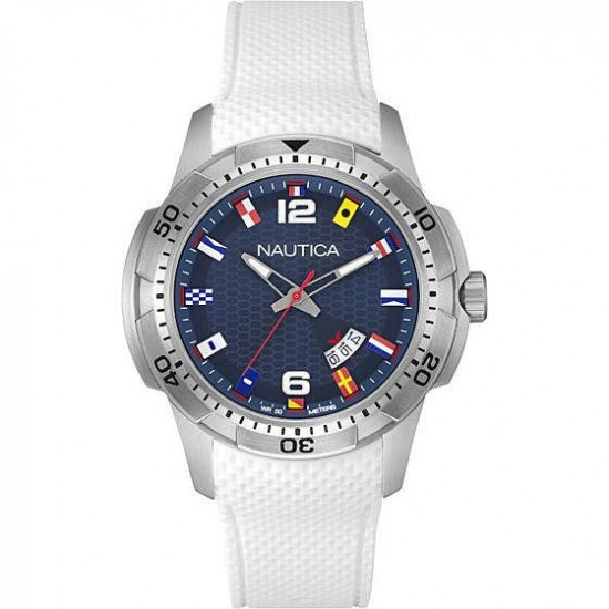 Nautica Watch Man Only Time Ncs 16 Flags Collection