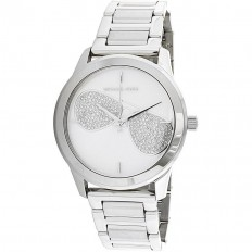 Michael Kors Orologio Donna Solo Tempo Silver Dial Crystal