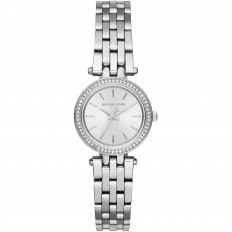 Michael Kors Women's Only Time Silver with Crystals