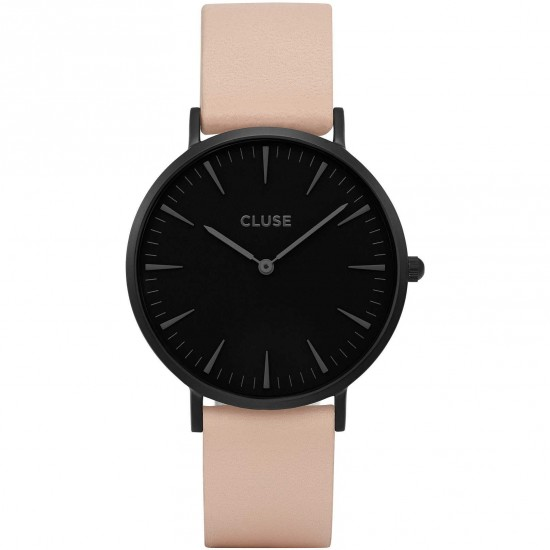 Cluse Watch Only Time Woman Back/Nude La Bohème Collection