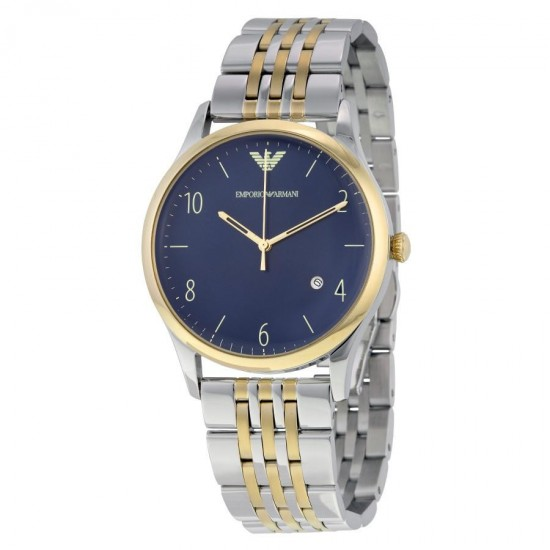 Armani Watch Unisex Only Time Beta