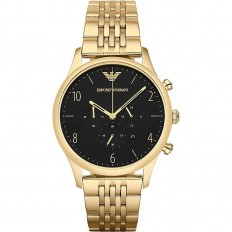 Armani Watch Man Chronograph Black/Gold