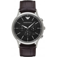 Armani Watch Man Chronograph Total Brown 2015