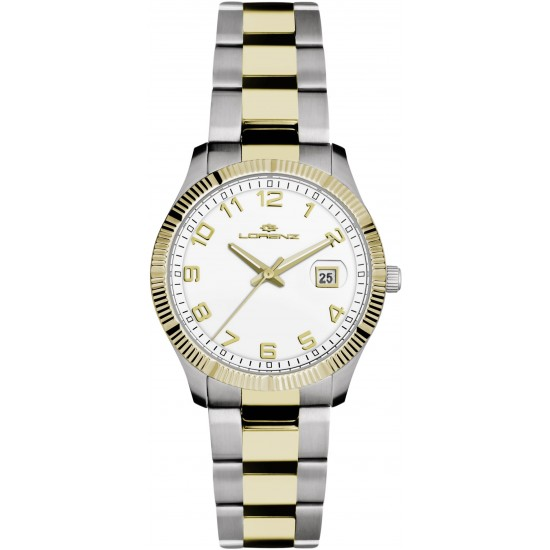 Lorenz Watch Only Time Geneva Collection Slim