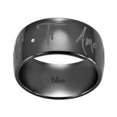 Bliss Ring Woman Taogd+ Collection Black