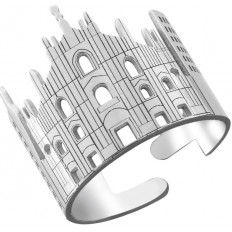 Montenapoleone Ring Woman Milan City Collection