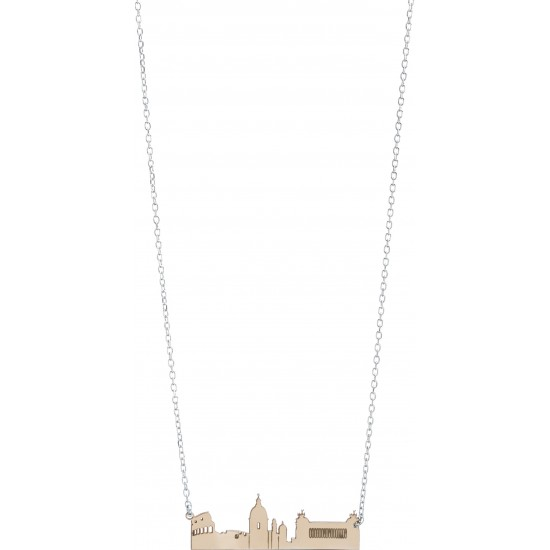 Montenapoleone Necklace Woman Rome City Collection