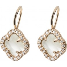 Montenapoleone Ear-Rings Woman Borgospesso Collection Rose