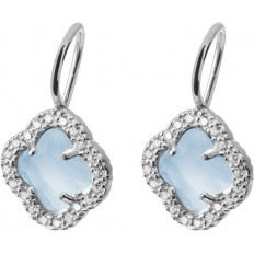 Montenapoleone Ear-Rings Woman Borgospesso Collection Blue