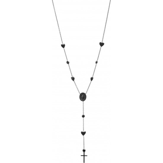 Montenapoleone Necklace Woman Bagutta Black